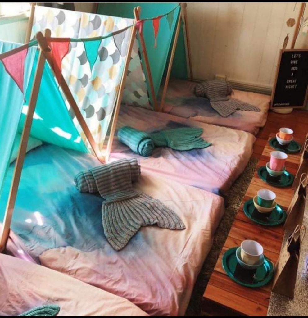 Teepee Tent for kids mermaid theme