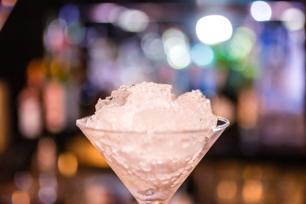 Go Bars frozen slushie